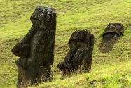 Rapa Nui. Rano Raraku.