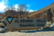 Alabama Hills CA