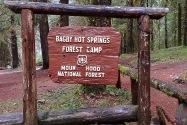 Bagby Hot Springs OR
