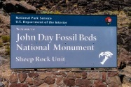John Day Fossil Beds NM OR