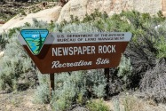 Newspaper Rock UT