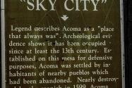 Old Acoma NM